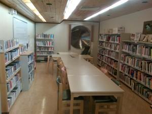 Nunavut Arctic College Kivalliq Campus Library, Rankin Inlet. Photo by Appolina Makkigak