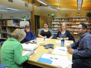 NLA's fall meeting at the Nunavut Legislative Library